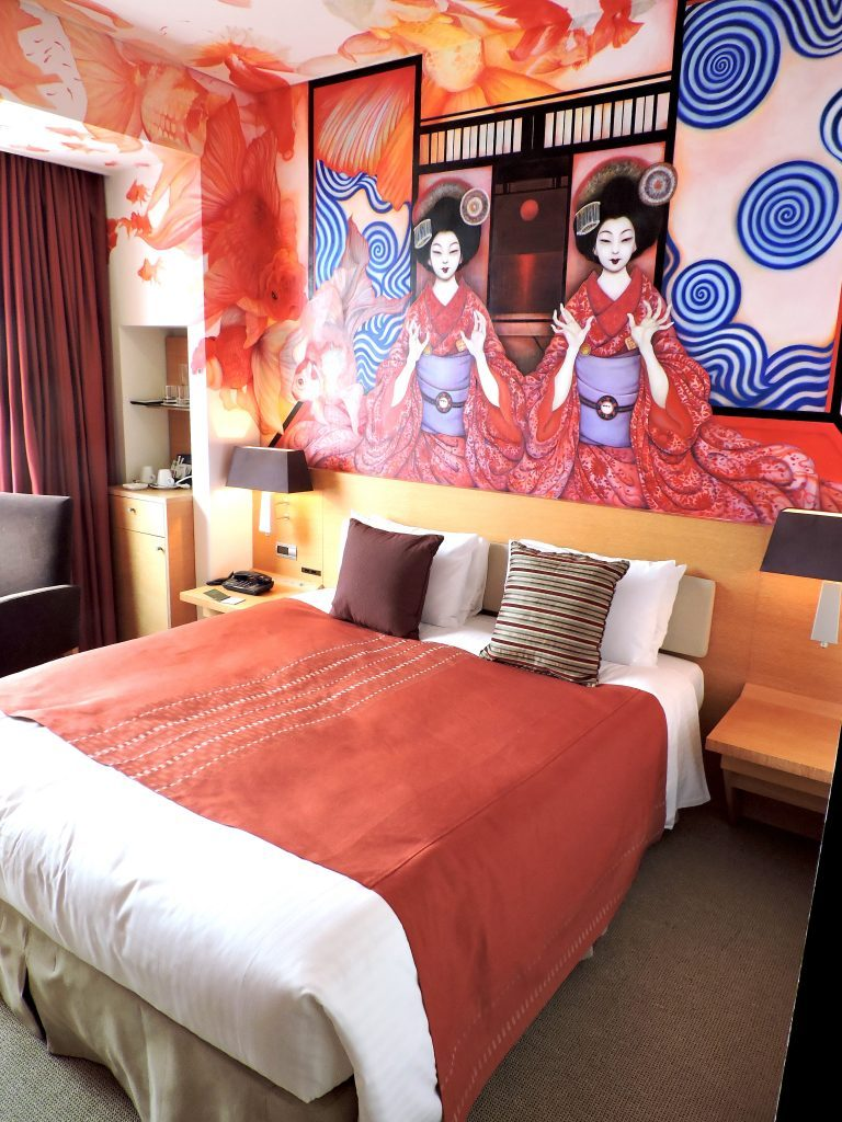 Park Hotel Tokyo geisha goldfish