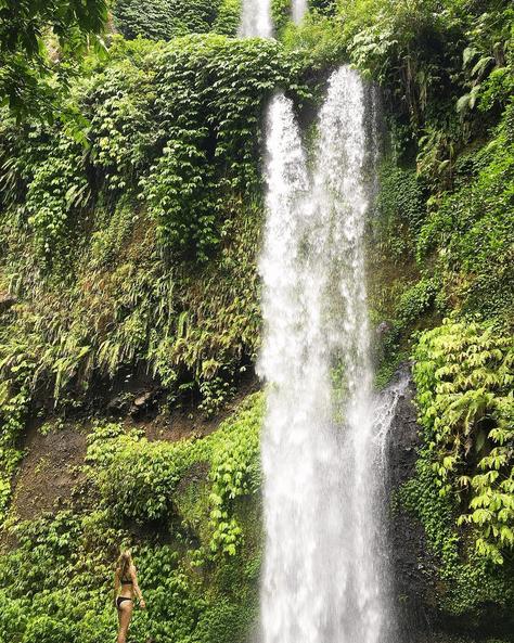 Sendang Gile waterfall Lombok MyLIfesAMovie.com