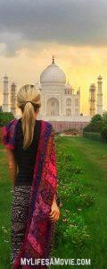 Taj Mahal back MyLifesAMovie.com