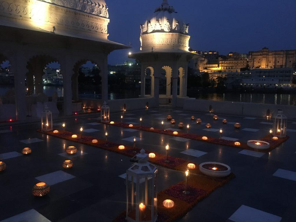 Taj Lake Palace night mylifesamovie.com