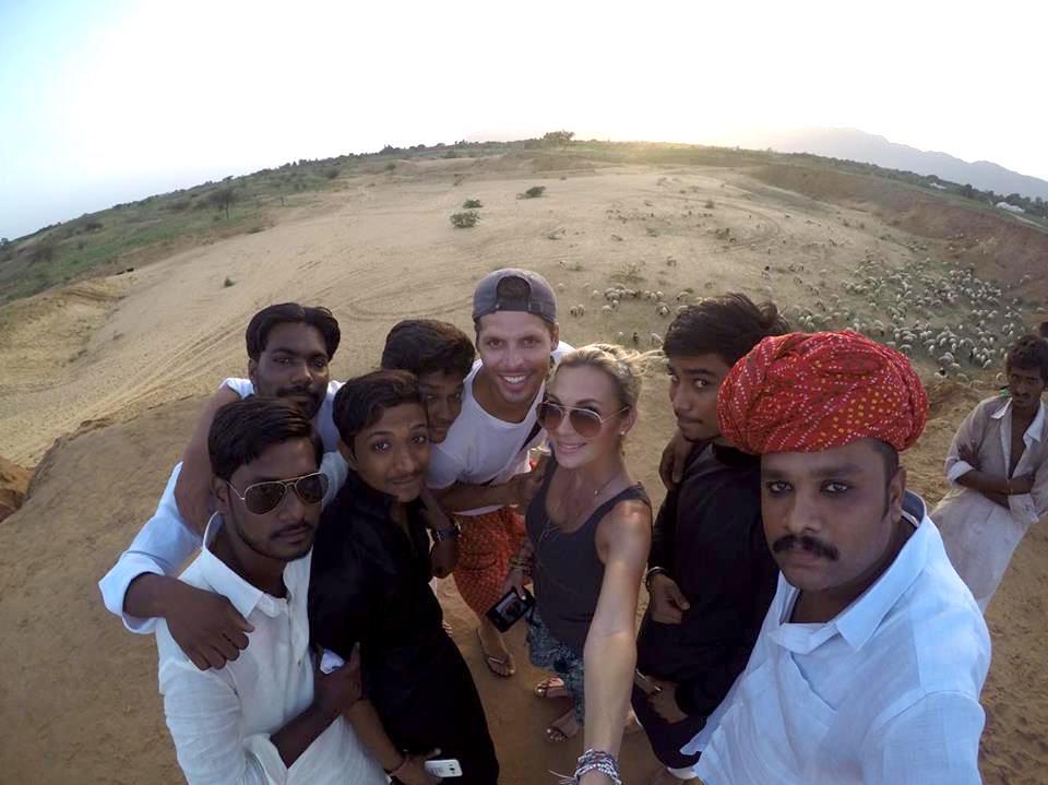 selfie in India Alyssa Ramos mylifesamovie.com