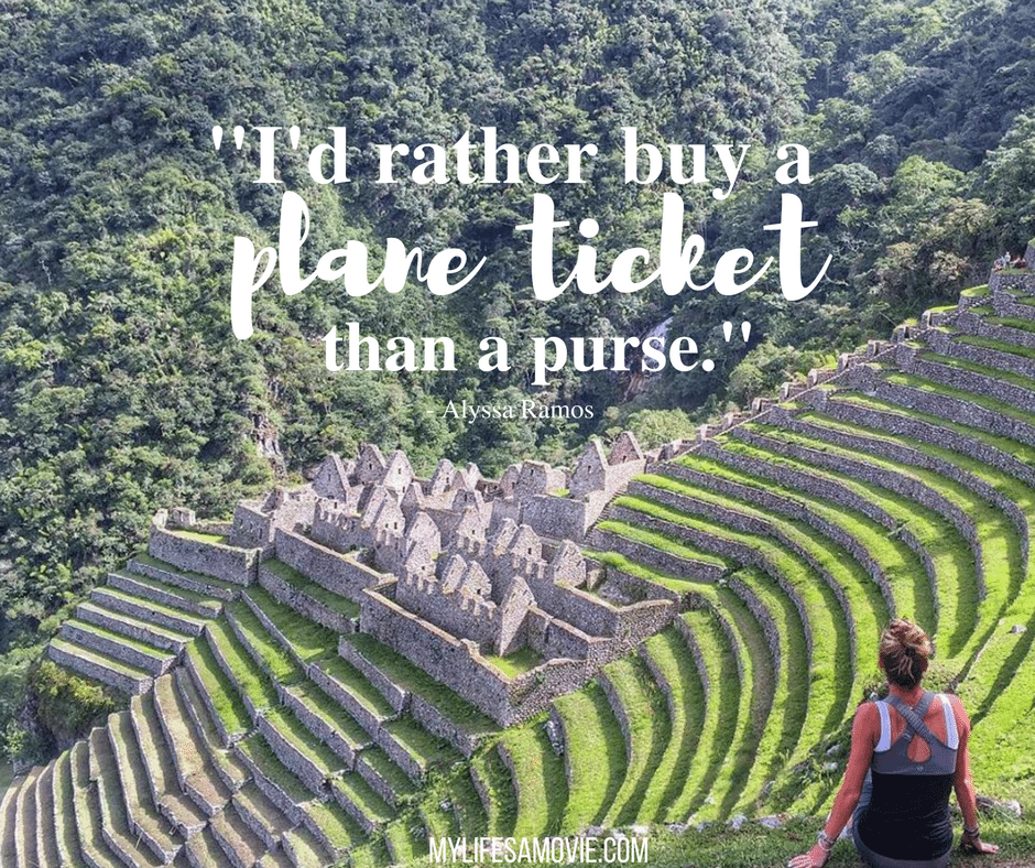 Wanderlust Workers travel-quotes-rather-buy-a-plane-ticket-mylifesamovie-com