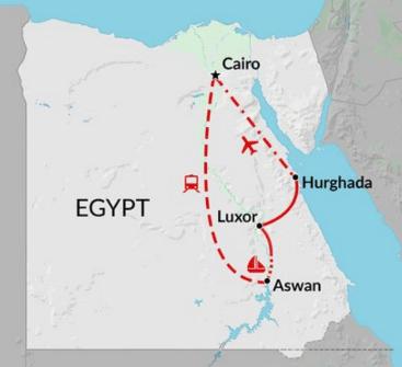 egypt tour map mylifesamovie.com