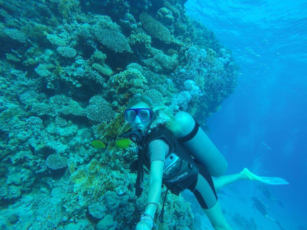 Scuba Diving Red Sea MyLifesAMovie.com Alyssa Ramos