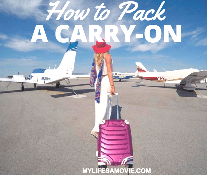 How to Pack a Carry on