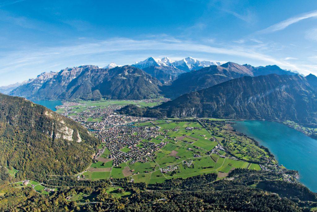 Interlaken, Panorama