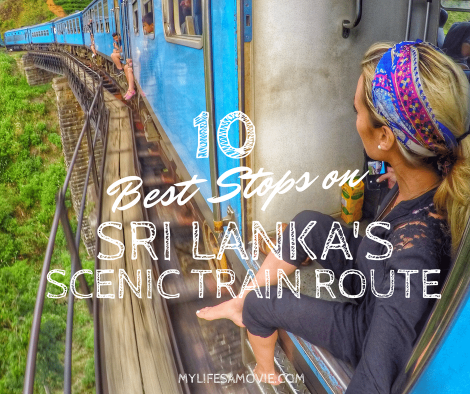 Best Stops on Sri Lanka train route mylifesamovie.com