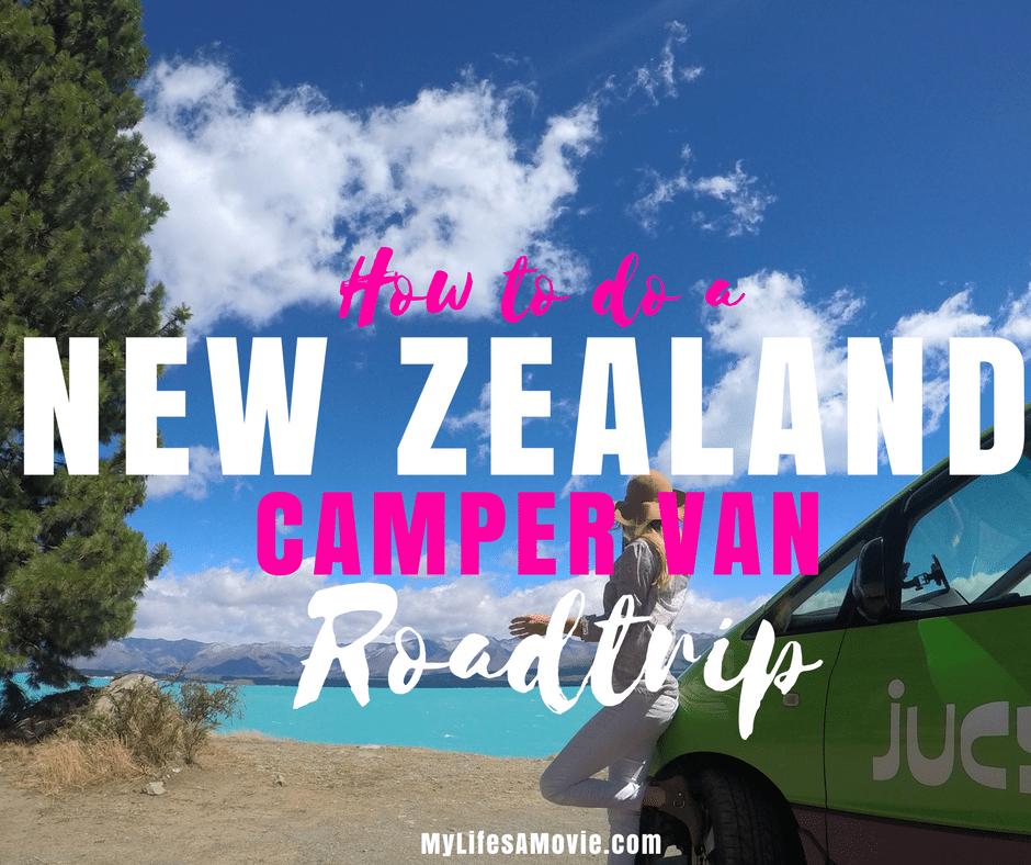How to do a new Zealand camper van road trip