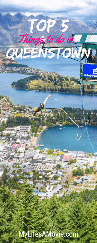 Queenstown is one of the most awesome cities in New Zealand! Here are the top 5 things to do in and around Queenstown!