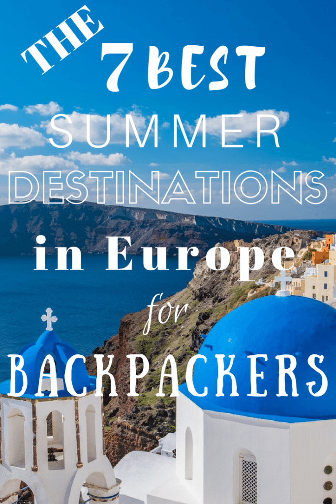 Want to travel to the most incredible places in Europe this summer on a budget? Check out these 7 best budget summer destinations including Greece, Croatia, and Spain!