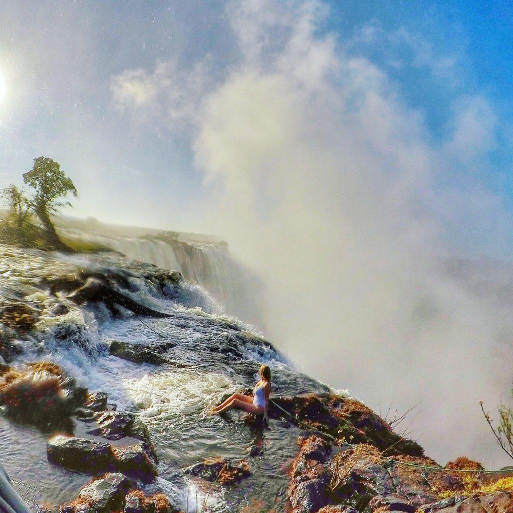 Devil's Pool Victoria Falls Livingstone mylifesamovie.com