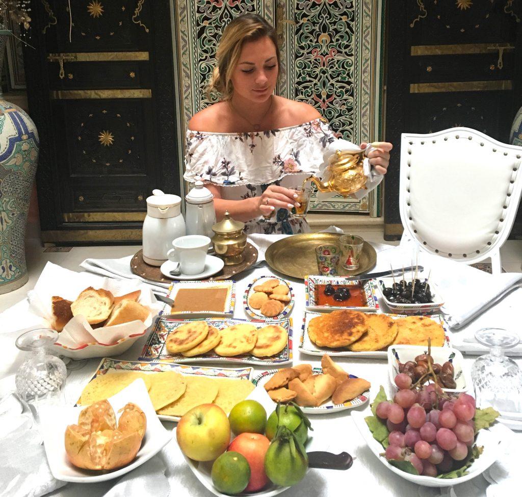 Meknes AirBnB breakfast