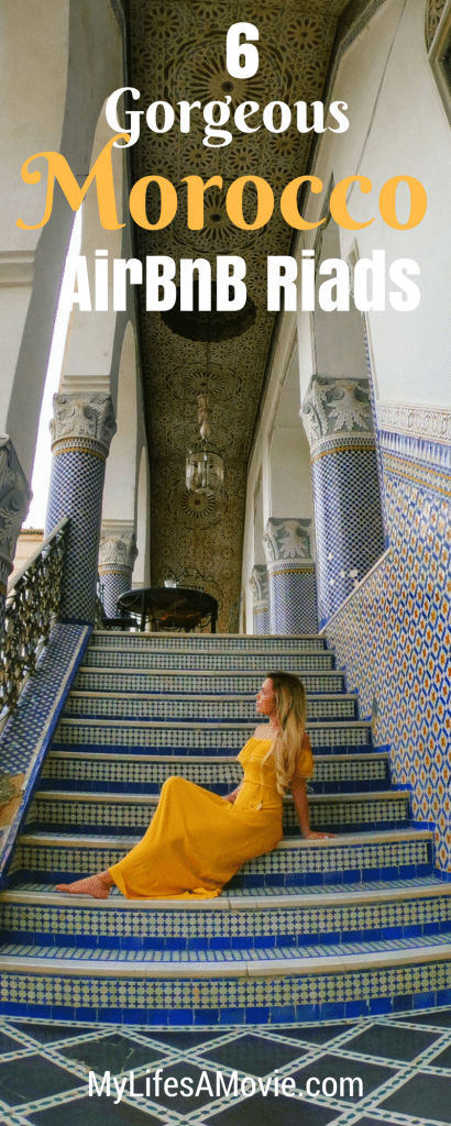I traveled solo through Morocco and found the BEST riads to stay at on AirBnB! A major bonus was that the hosts helped me with transportation and local guides so I'd feel safe traveling alone in Morocco!