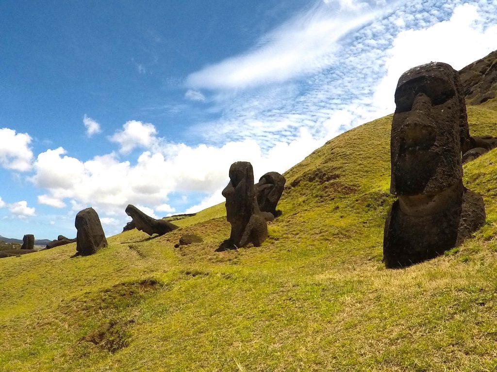Moai Easter Island mylifesamovie.com