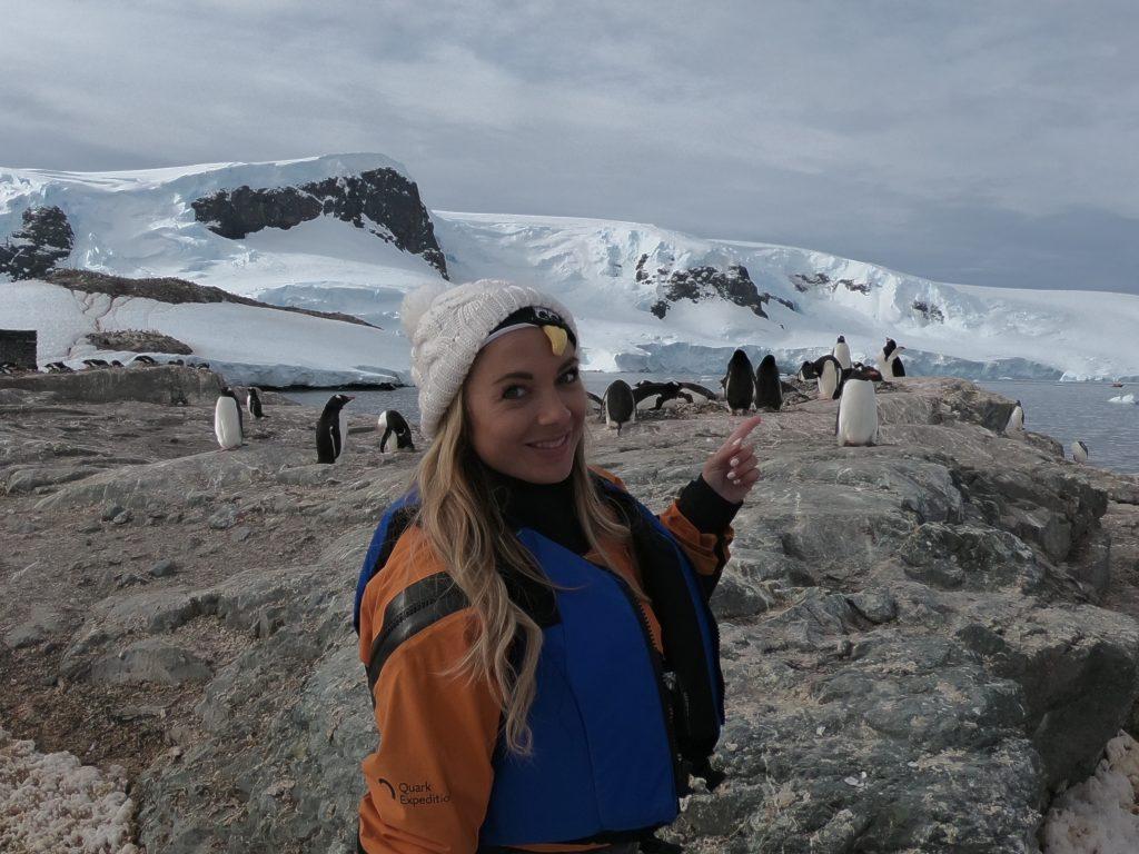 Paddleboard in Antarctica Alyssa Ramos mylifesamovie.com