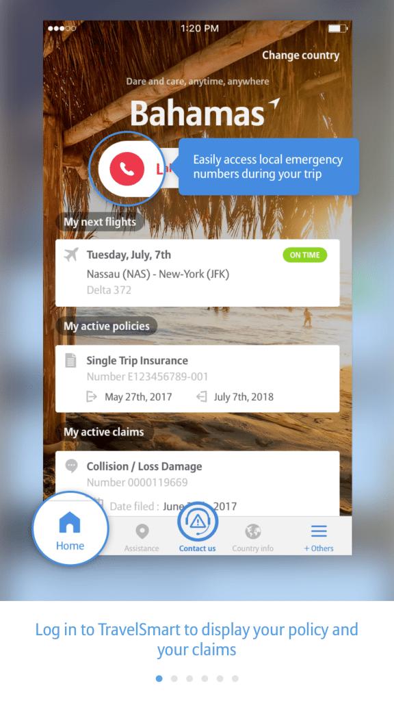 Alyssa Ramos Allianz travelsmart app