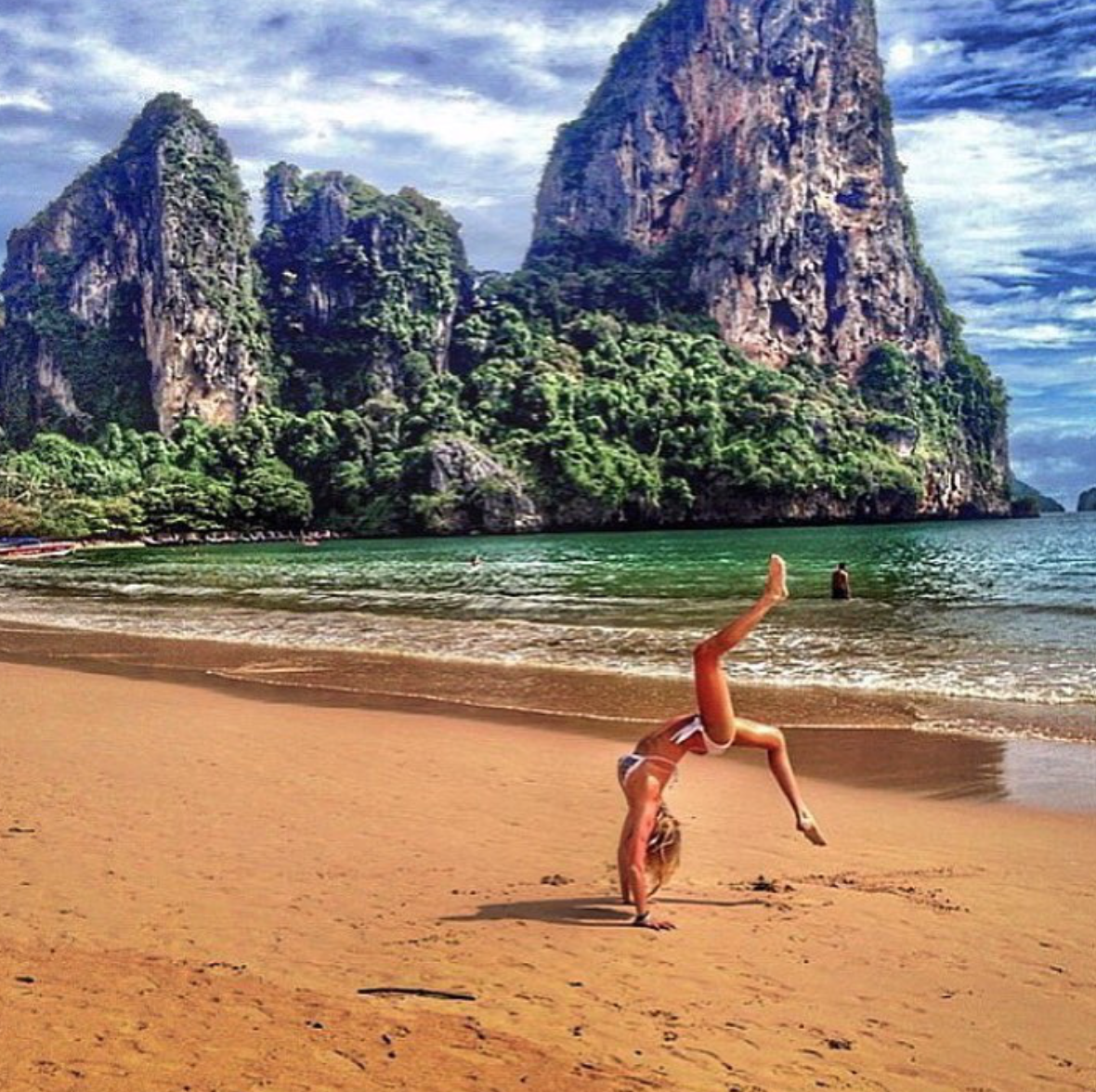 Practice daily stretching to support wellness while traveling