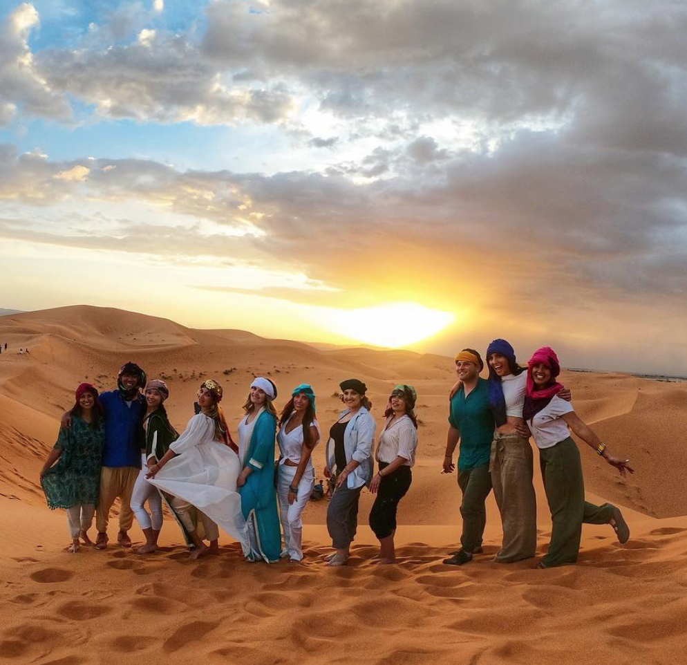 Travelers should ask permission before taking a photograph of locals
