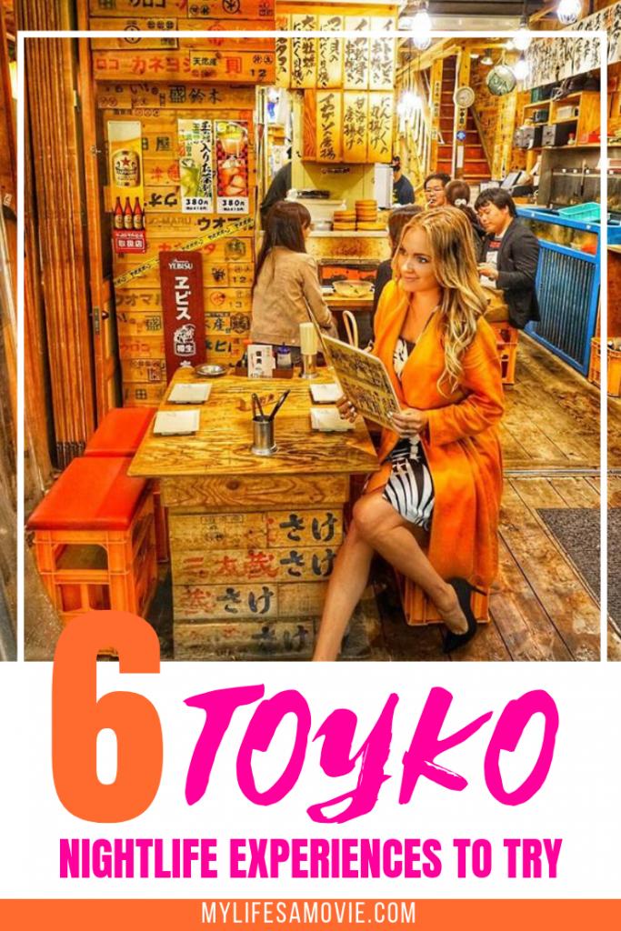 6 Toyko Nightlife Experiences to Try - Alyssa Ramos, Travel Blogger