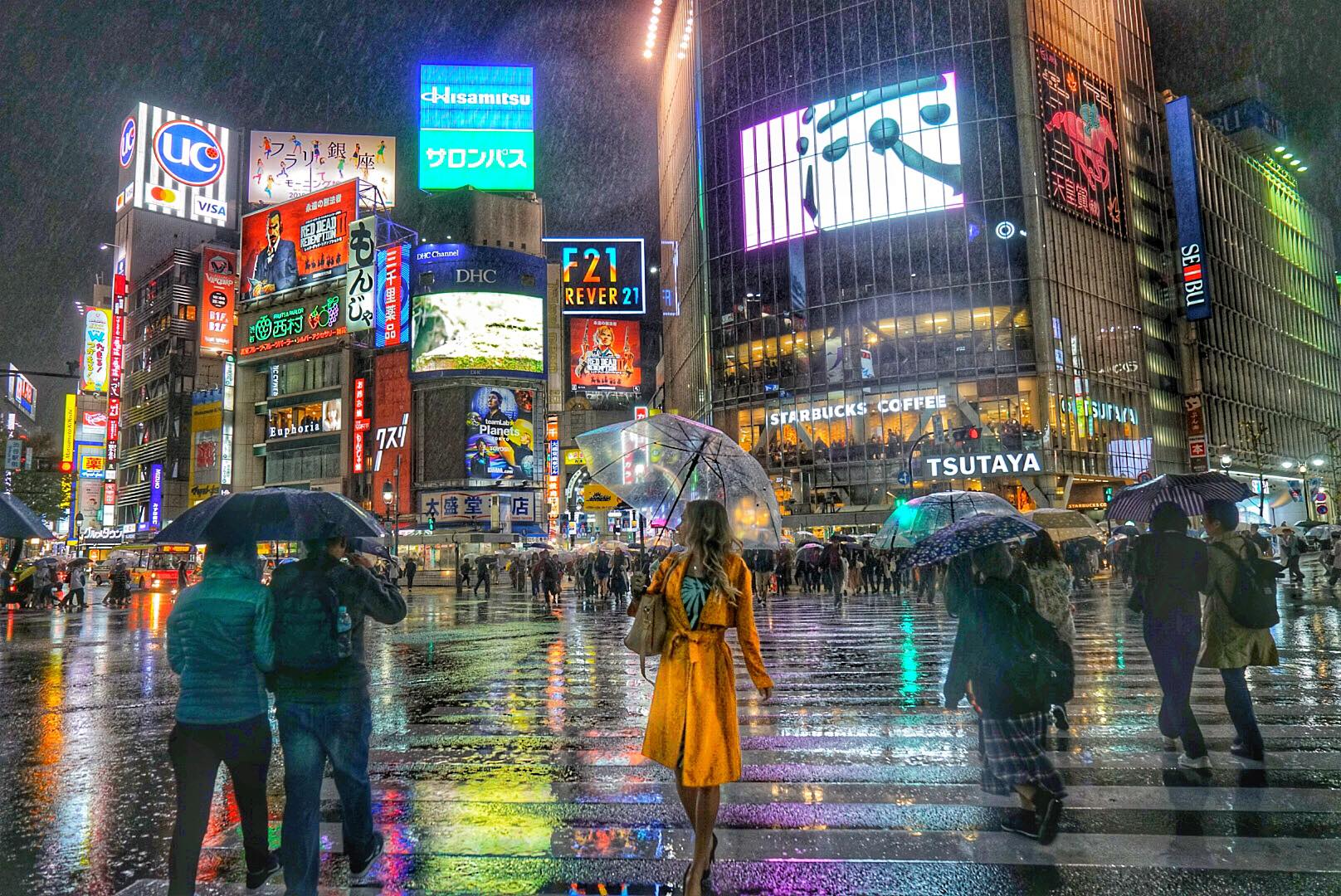 Tokyo Nightlife Shibuya Crossing Alyssa Ramos mylifesamovie.com
