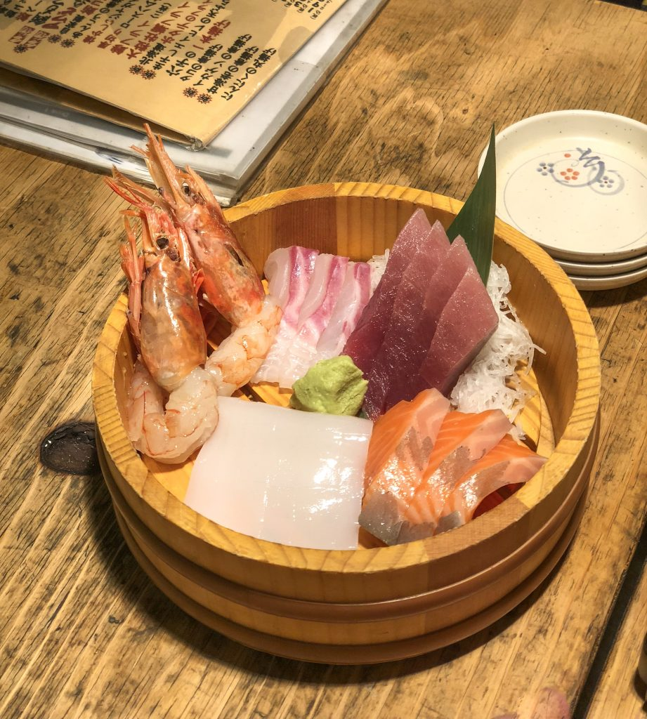 Tokyo Nightlife izakaya restaurant mylifesamovie.com