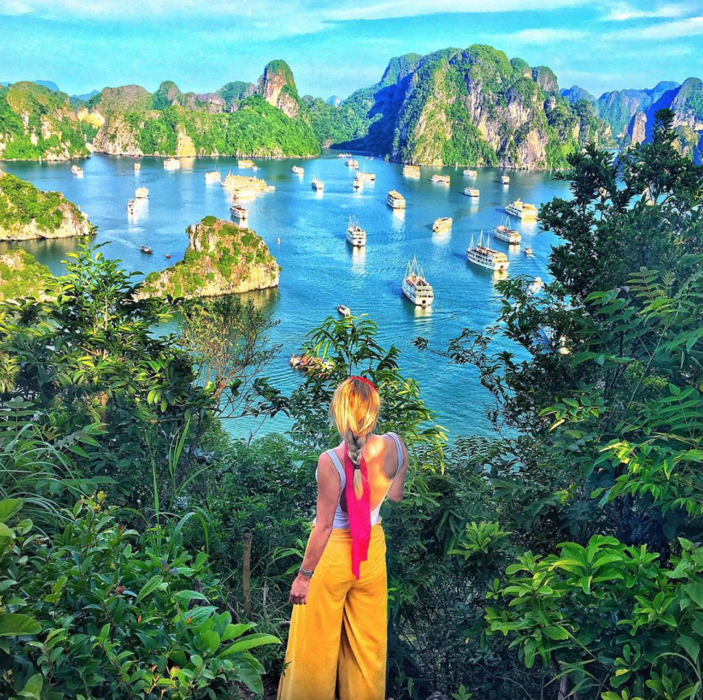 Top Solo Travel Destinations in 2019 include Ha Long Bay