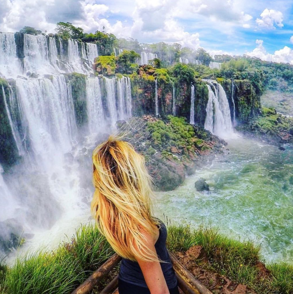Top Solo Travel Destinations in 2019 include Iguazu Falls