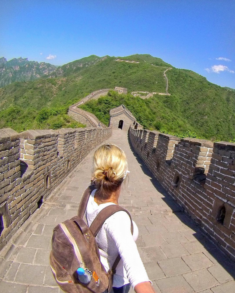 Top Solo Travel Destinations in 2019 include the Great Wall of China