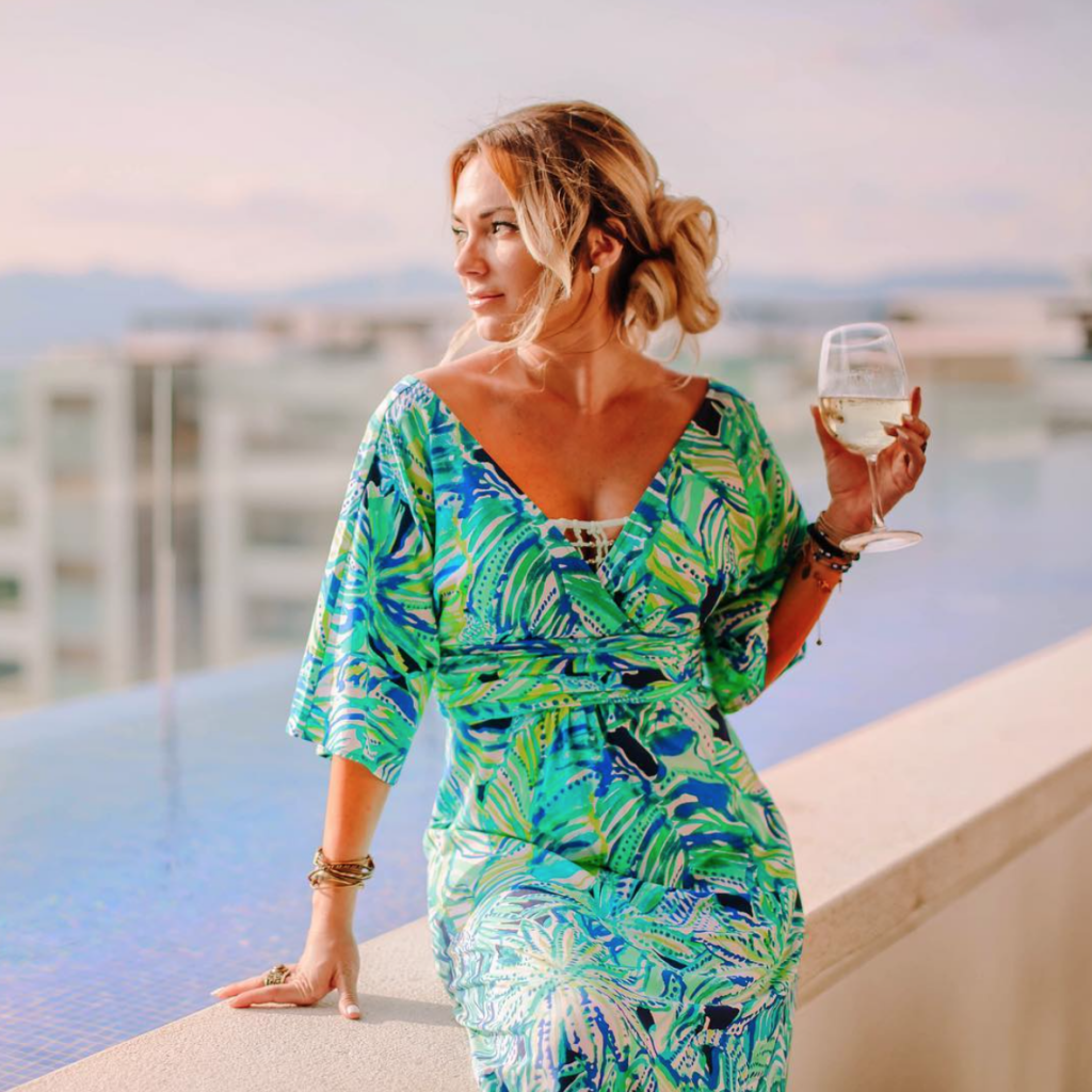 Avoid sugary cocktails when you travel so you don't gain weight.