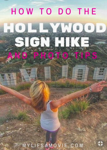 The main Hollywood Sign hike trail is closed, so here are instructions for the next easiest alternative route! Plus details for how to get photos in front of and behind the Hollywood Sign!
