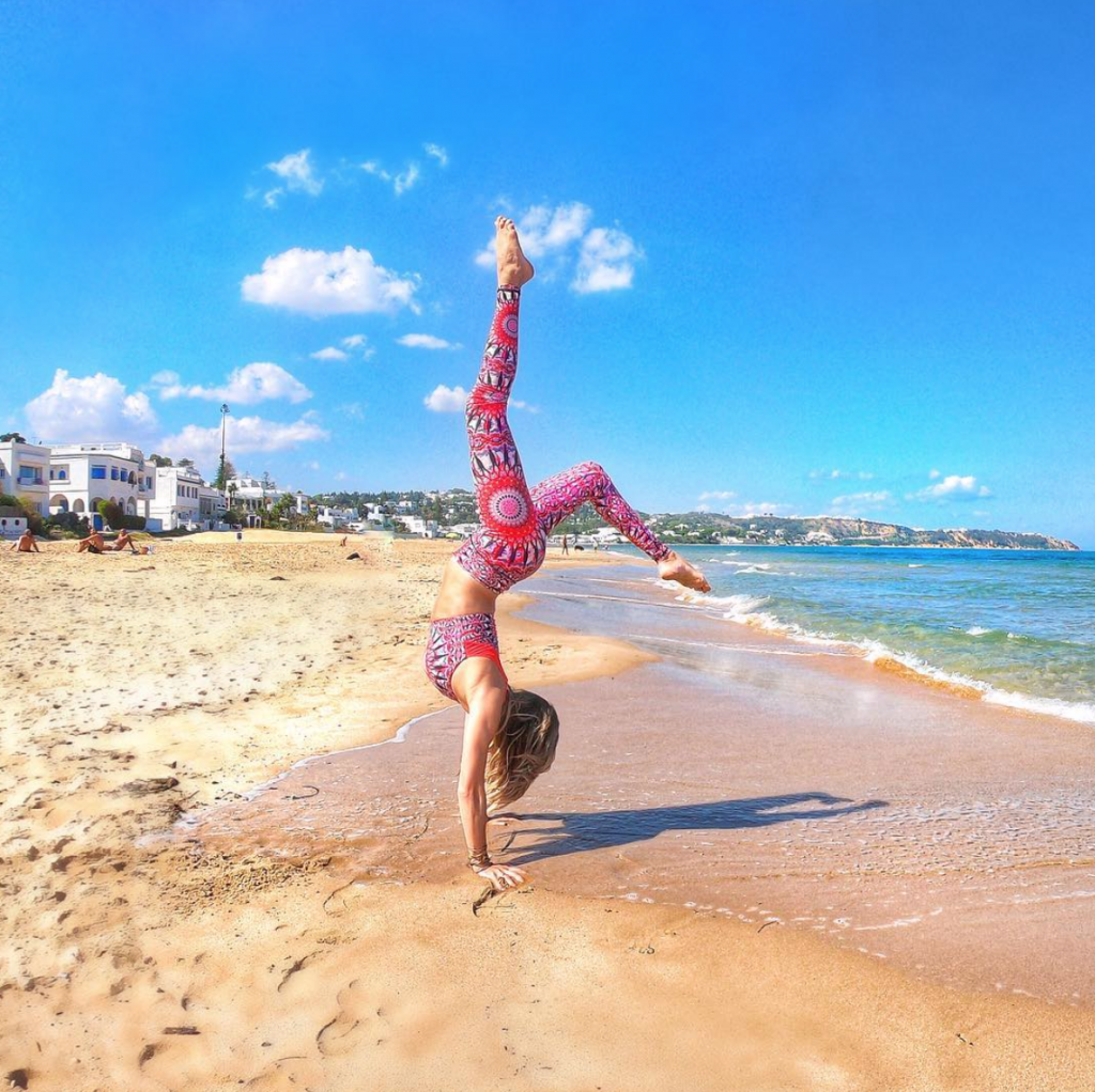 Being a yoga teacher will support you as you go traveling all over the world.