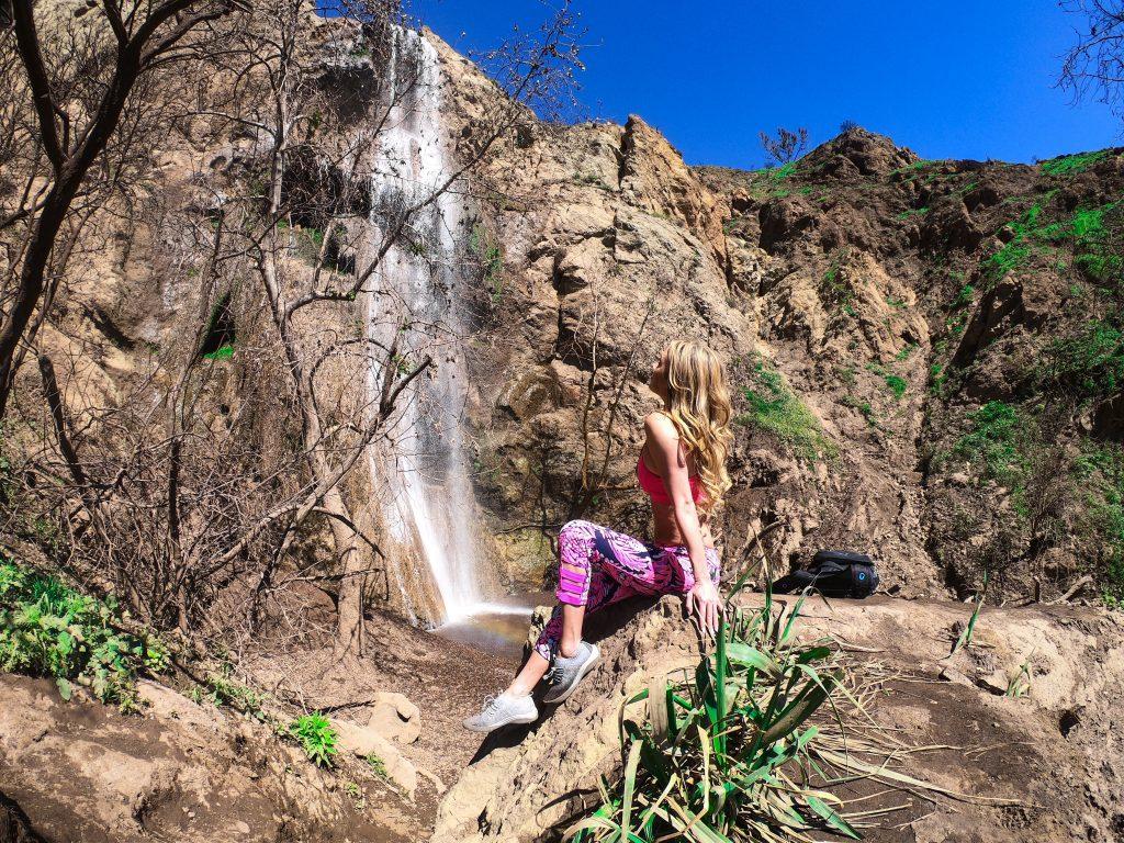 escondido falls malibu waterfall hike mylifesamovie.com w 4