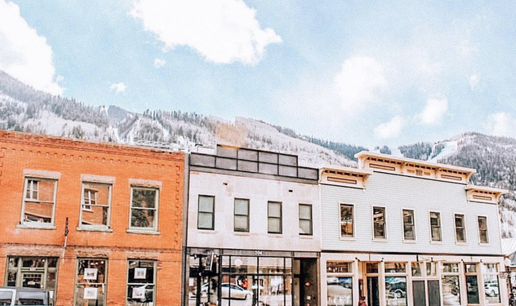 Charming Telluride is one of the stops on the San Juan Skyway Scenic Byway road trip!