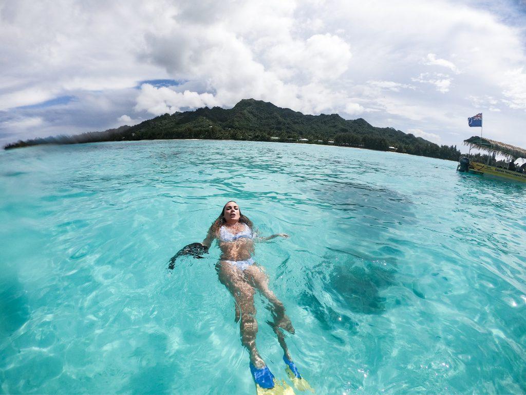 snorkel Rarotonga Cook Islands mylifeamovie.com 3