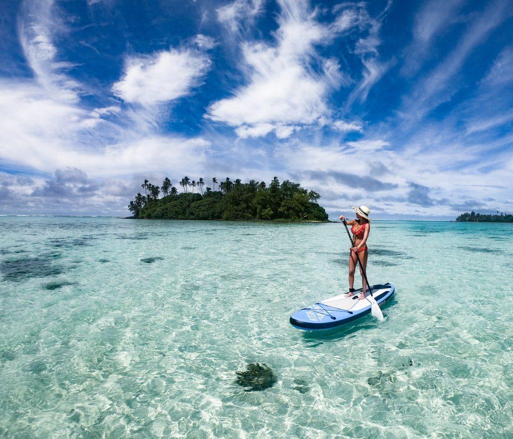 paddleboard Rarotonga Cook Islands mylifeamovie.com 6