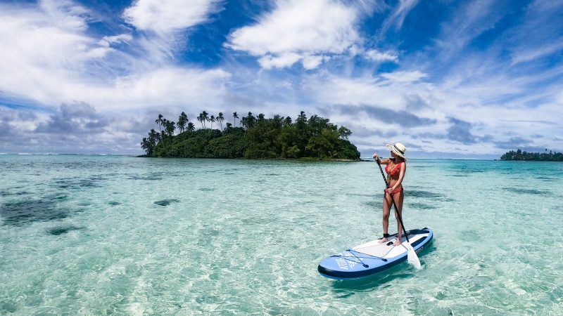 paddleboard Rarotonga Cook Islands mylifeamovie.com 6