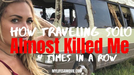 como viajar sozinho quase me matou