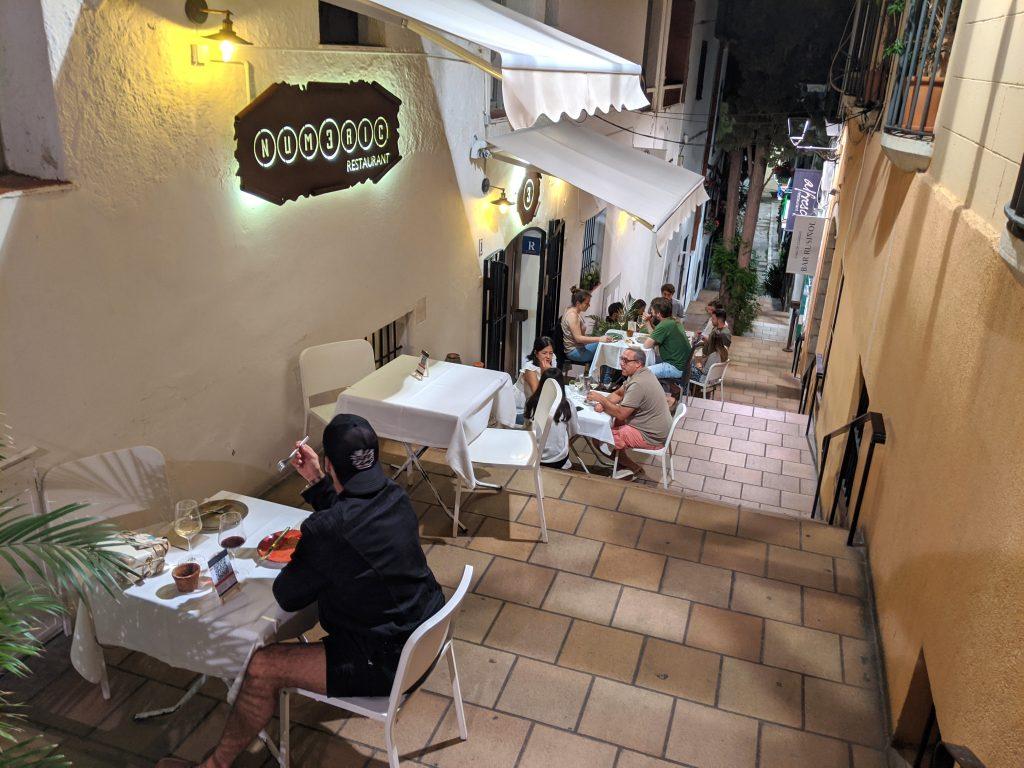 Vida noturna em Sitges